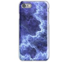 dark blue chips iPhone Case/Skin