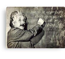 Einstein's Theory of Relativity Revised Canvas Print