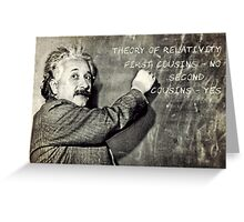 Einstein's Theory of Relativity Revised Greeting Card