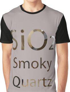 SU: Smoky Quartz Chemical Formula Graphic T-Shirt