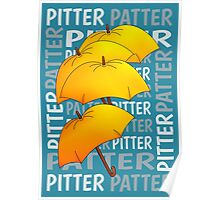 Umbrella  Pitter Patter Poster