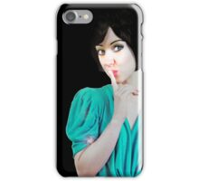 SHH! iPhone Case/Skin