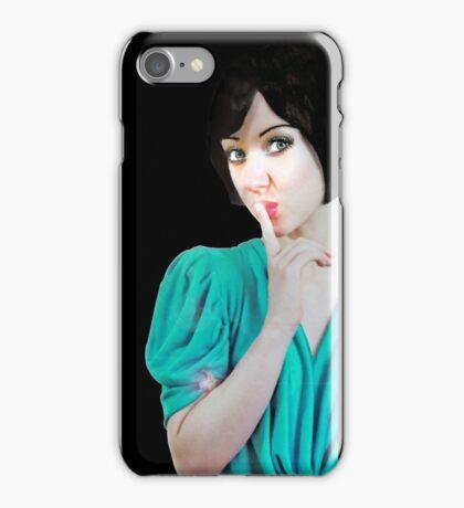 SHH! iPhone Case/Skin