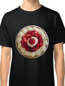 Strawberries-and-Cream Novelty Classic T-Shirt