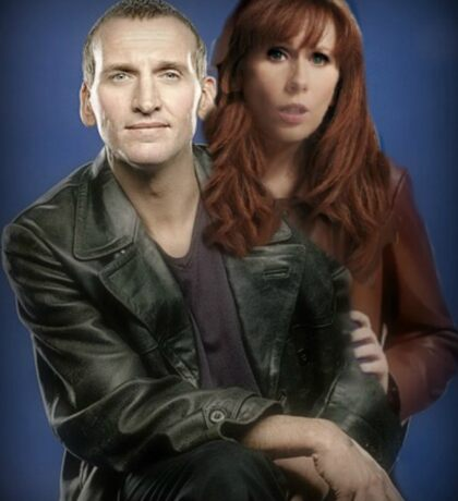 Doctor Who- Ninth Doctor x Donna Noble Sticker
