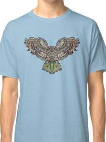 Colorfull gorgeos eagle owl Classic T-Shirt