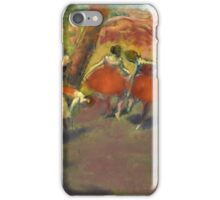 Edgar Degas - Before The Performance iPhone Case/Skin