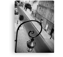Parisan Street Lamp Canvas Print