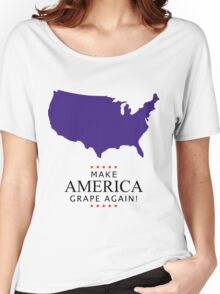 Make America Grape Again Women's Relaxed Fit T-Shirt