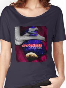 Japanese Drugstore Flying Saucer Women's Relaxed Fit T-Shirt