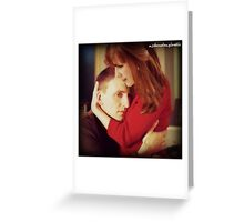 Doctor Who - Ninth Doctor and Donna Noble AU Greeting Card