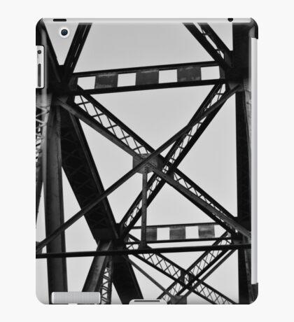 BW Railroad Bridge Beams iPad Case/Skin