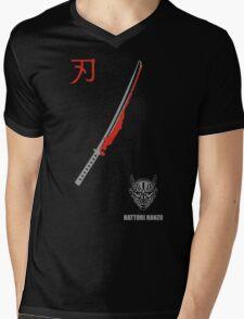 MENS HATTORI HANZO KILL BILL SAMURAI SWORDS Mens V-Neck T-Shirt
