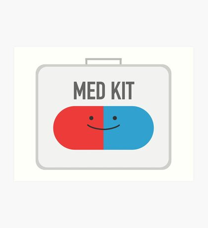 Happy MedKit Art Print