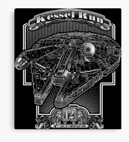 Kessel Run Canvas Print