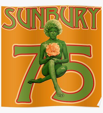 Sunbury 75 Shirt Poster