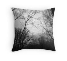 Map of Branches Throw Pillow