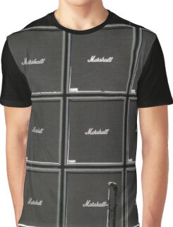 Wall of Marshall amps Graphic T-Shirt