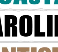 coastal carolina chanticleer Sticker