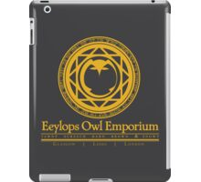Eeylops Owl Emporium in Yellow iPad Case/Skin