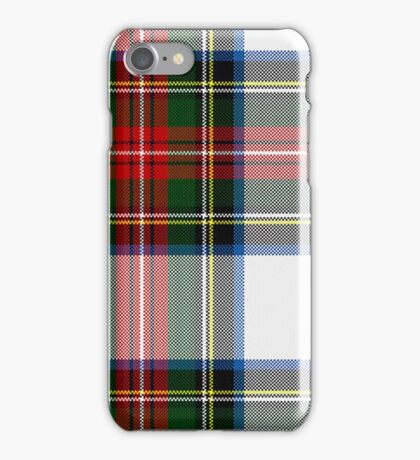 Clan Stewart Dress Tartan Plaid Pattern iPhone Case/Skin