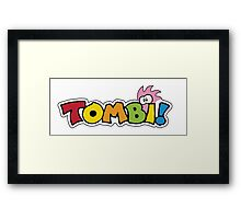 Tombi Tomba Framed Print
