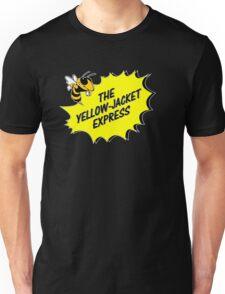 The Yellow Jacket Express - left Unisex T-Shirt