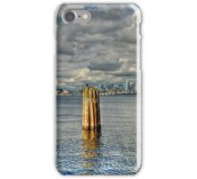 Seattle Skyline and Cityscape iPhone Case/Skin