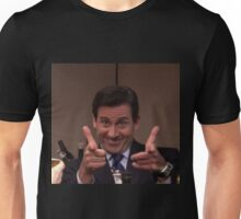 michael scott finger guns Unisex T-Shirt