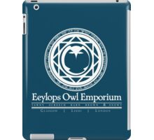 Eeylops Owl Emporium in White iPad Case/Skin