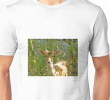Young Buck In A Field Unisex T-Shirt