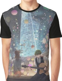 Alone In The City Of Night Graphic T-Shirt