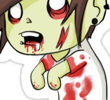 scene zombie Sticker