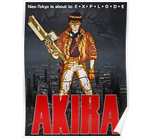 AKIRA NEO TOKYO IS ABOUT EXPLODE Poster