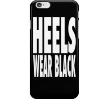 Heels Wear Black iPhone Case/Skin