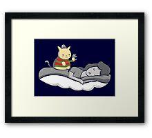 Freddy Cat-grr Framed Print