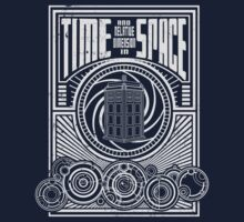 Time and Space Kids Tee