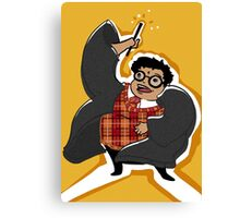 Fatty Potter! Canvas Print
