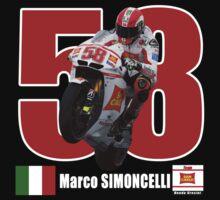 Marco Simoncelli 58 Super SIC by bentoz