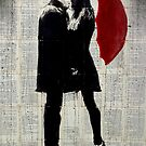 winters kiss by Loui  Jover