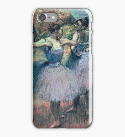 Edgar Degas - Dancers In Violet iPhone Case/Skin