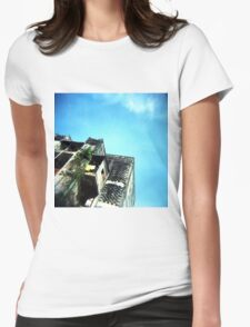 The White Building Womens Fitted T-Shirt