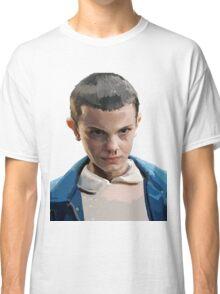 Stranger Things Eleven Artwork Classic T-Shirt