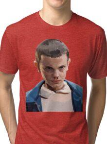 Stranger Things Eleven Artwork Tri-blend T-Shirt