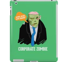 Corporate Zombie iPad Case/Skin