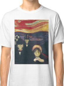 Edvard Munch - Anxiety Classic T-Shirt