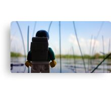 Lego Lake Canvas Print