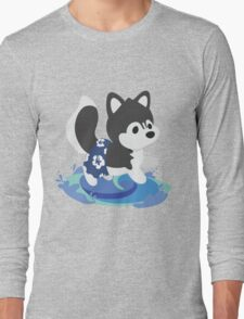 Surfer Husky Long Sleeve T-Shirt