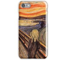 Edvard Munch - The Scream 1893  iPhone Case/Skin