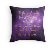 To the Stars - ACOMAF Throw Pillow